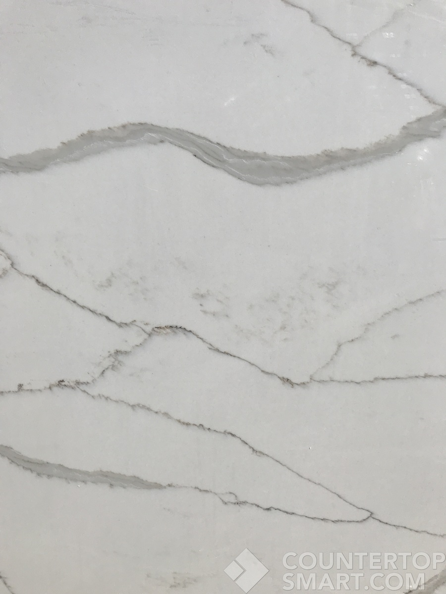 3 Off Your Perfect Quartz Engineered Zodiaq Calacatta Natura Countertop Remnant In Austin Texas Only 1466 11